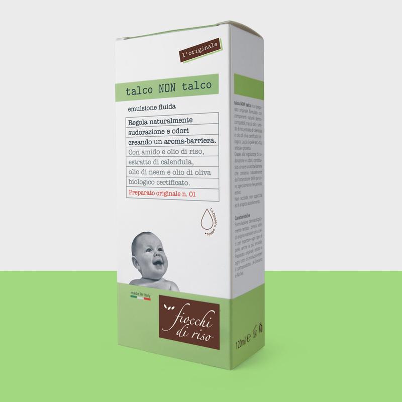 talco NON talco (l'originale) emulsione fluida