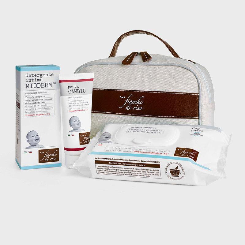 cofanetto CAMBIO PANNOLINO detergente INTIMO MIODERM 240 ml | pasta CAMBIO 100 ml