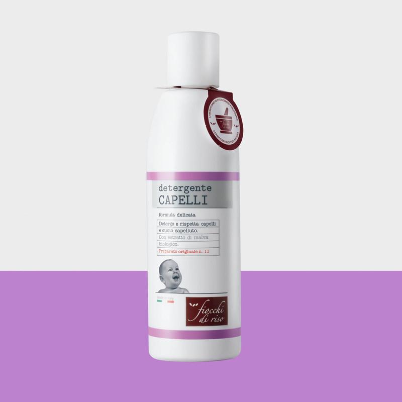 detergente CAPELLI formula delicata